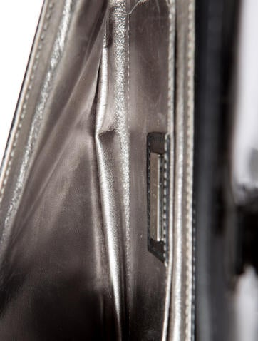 Patent Leather Pochette