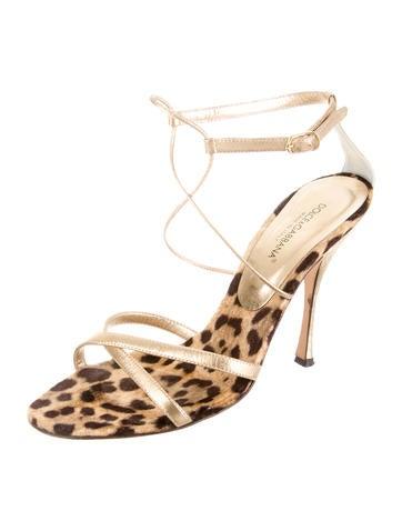 Leather Multistrap Sandals