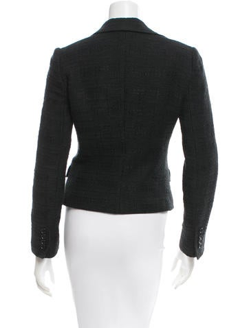 Long Sleeve Tweed Blazer