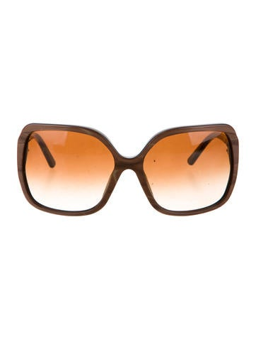Brown Oversize Sunglasses