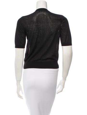 Short Sleeve Sheer Cardigan