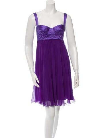 Dolce & Gabbana Sleeveless Silk Dress w/ Tags None