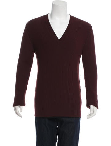 Dolce & Gabbana Wool V-Neck Sweater w/ Tags None