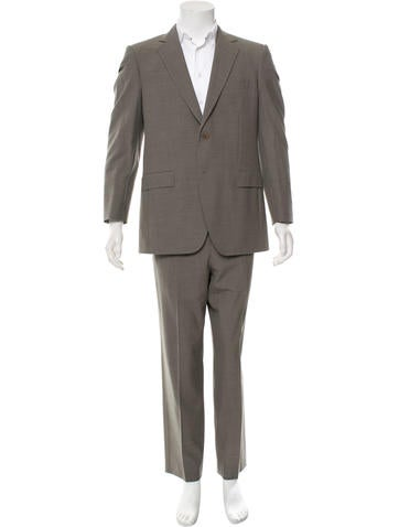 Wool Two-Piece Suit