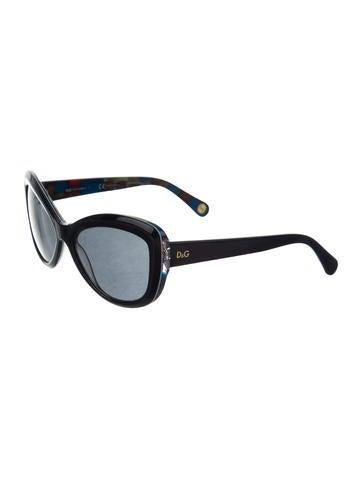 Cat-Eye Gradient Lens Sunglasses