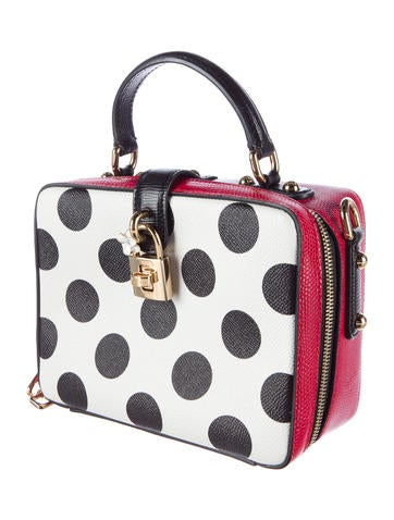 Rosaria Polka Dot Crossbody Bag