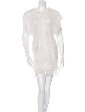 Dolce & Gabbana Knit Short Sleeve Dress None