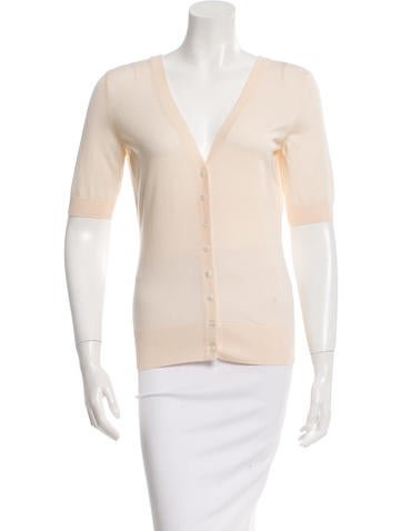 Dolce & Gabbana Short Sleeve Wool Cardigan None