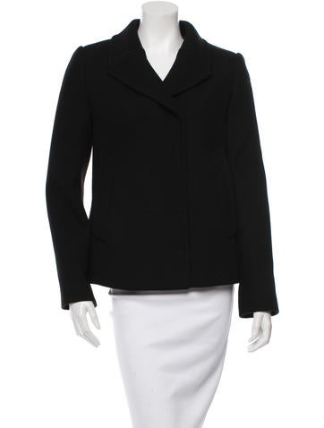 Dolce & Gabbana Wool Long Sleeve Jacket None
