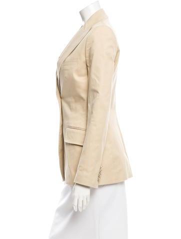 Structured Button-Up Blazer