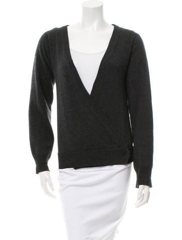 Dolce & Gabbana Cashmere Wrap Sweater None
