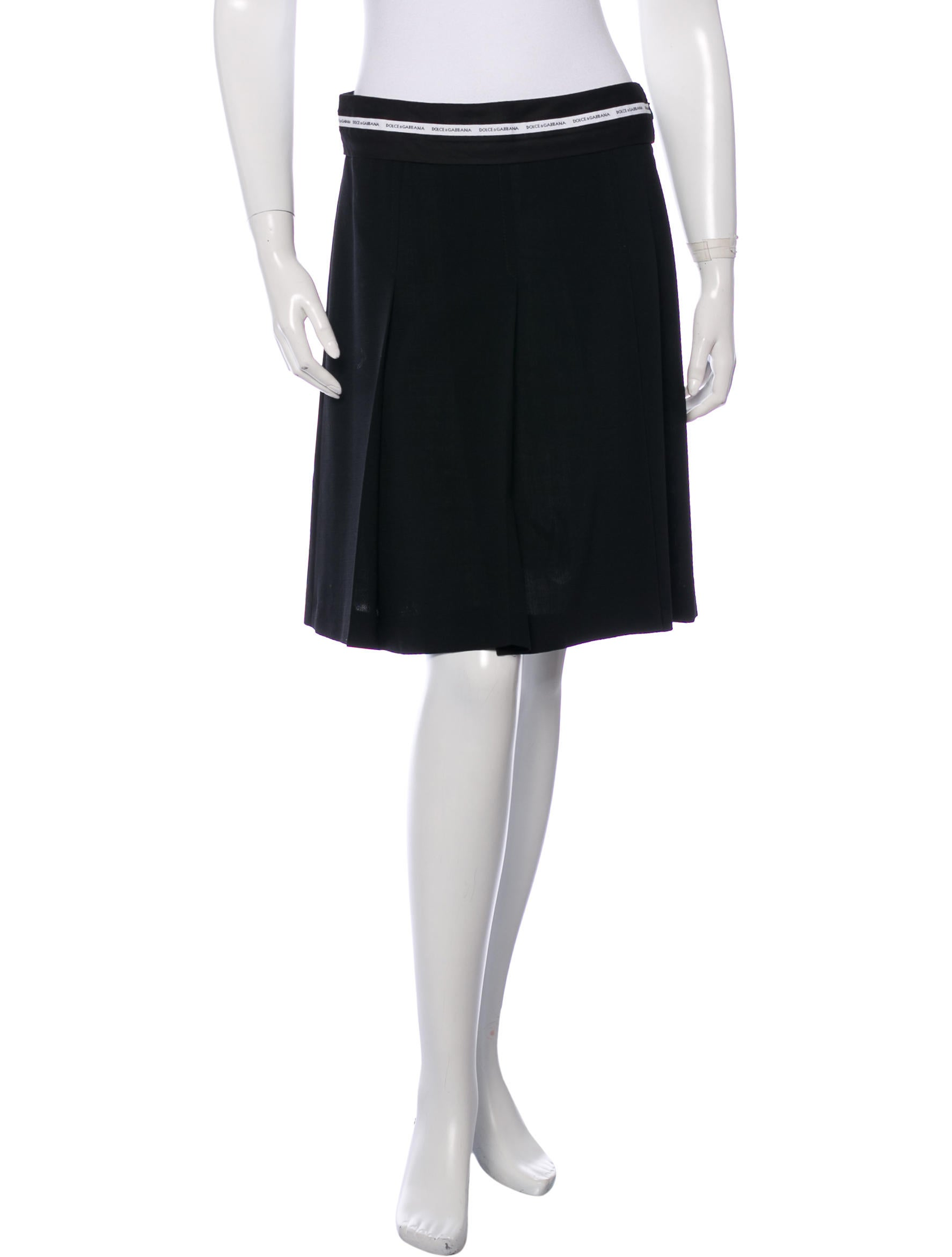 dolce gabbana pleated mini skirt clothing dag59731