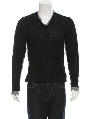 Dolce & Gabbana Pullover Open Knit Sweater w/ Tags None