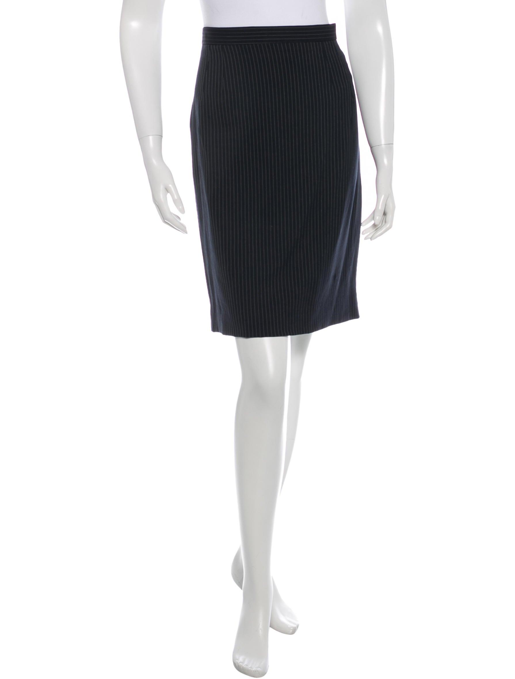 Pin Stripe Skirt 109