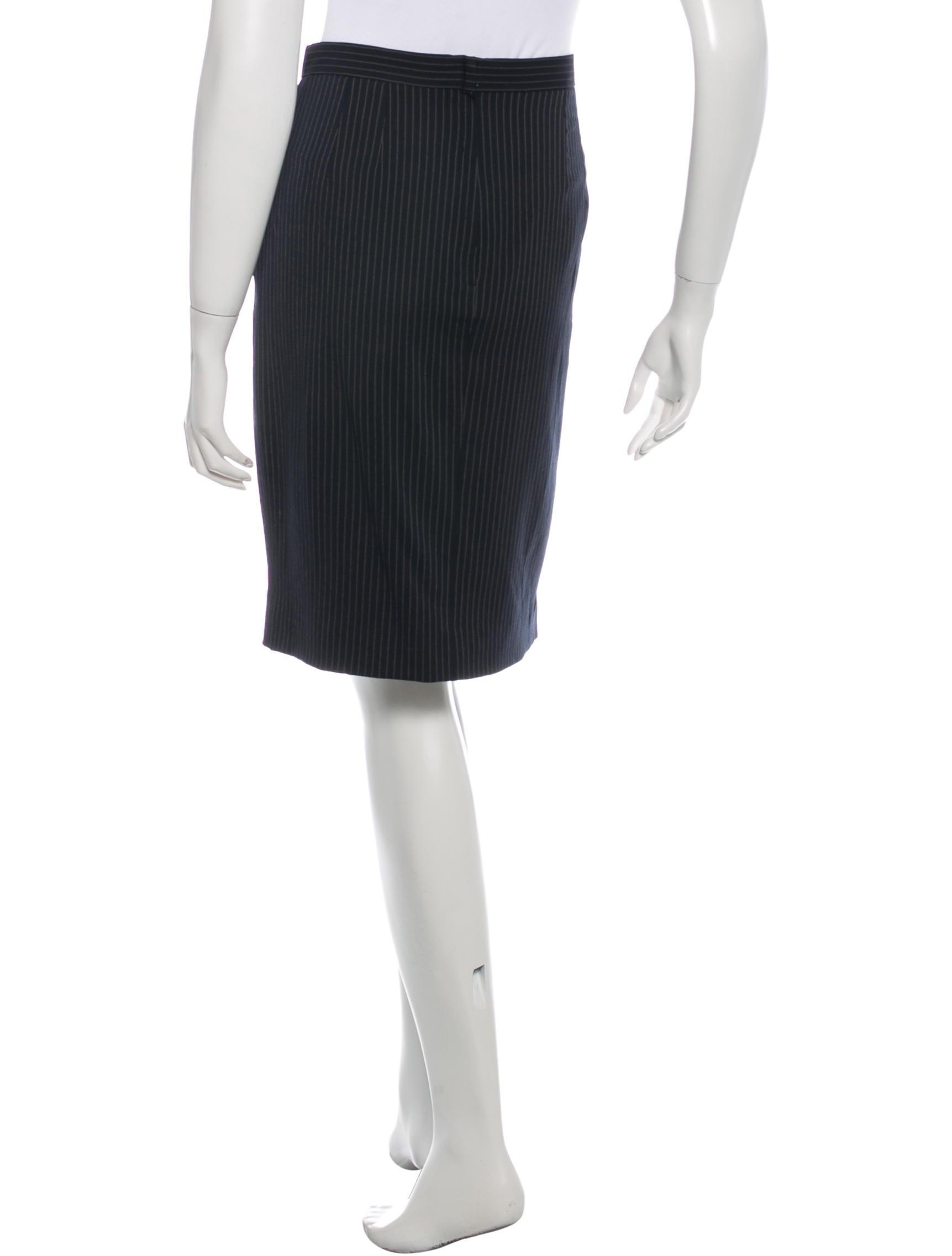 Pin Stripe Skirt 4