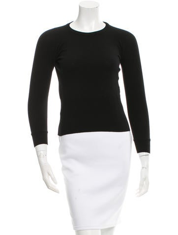 Dolce & Gabbana Wool Rib Knit Sweater None