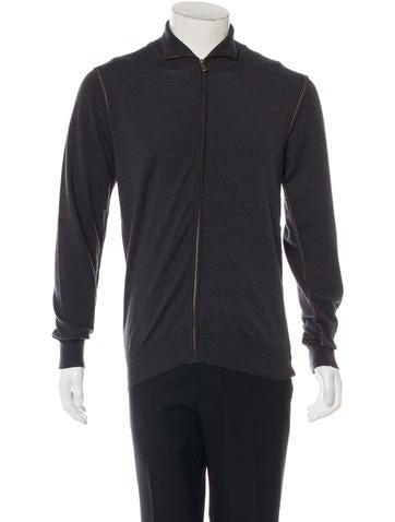 Dolce & Gabbana Wool Track Sweater None