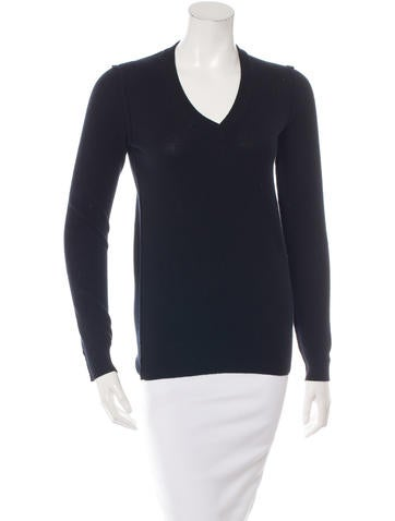 Dolce & Gabbana Cashmere Long Sleeve Sweater None