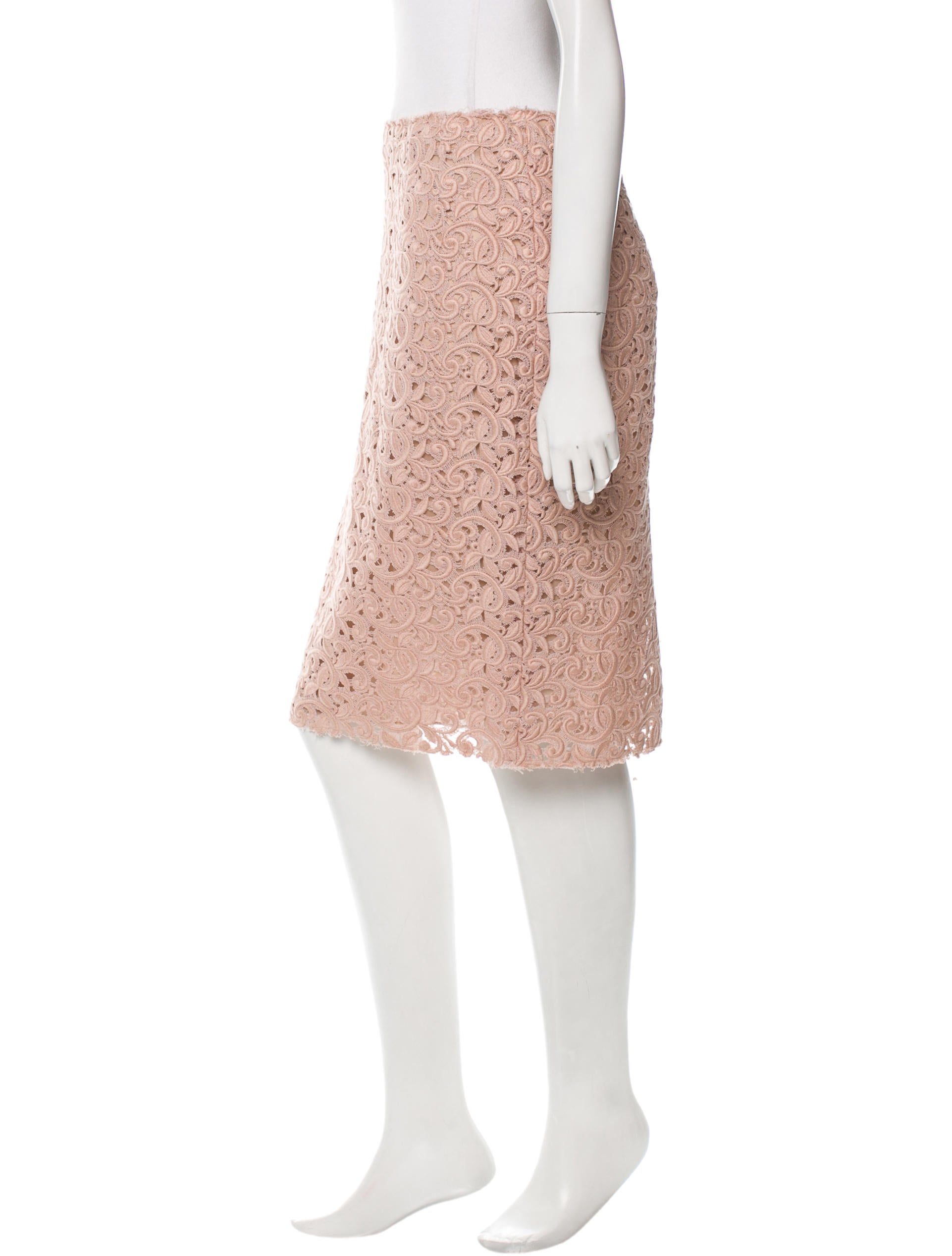 dolce gabbana lace pencil skirt clothing dag62760