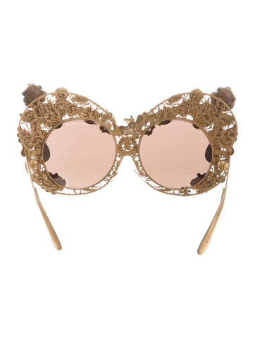 2016 Embellished Putti Sunglasses