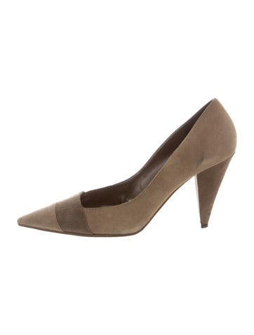 Dolce & Gabbana Pointed-Toe Suede Pumps