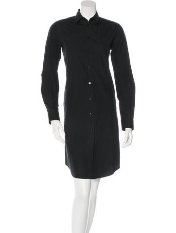 Dolce & Gabbana Long Sleeve Shirt Dress None
