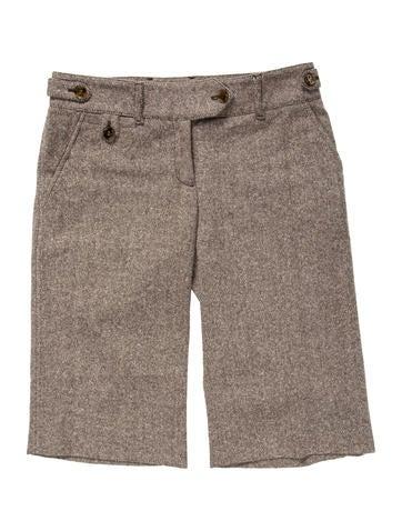 Wool Knee-Length Shorts