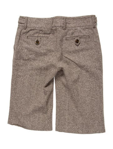 Wool Knee-Length Shorts