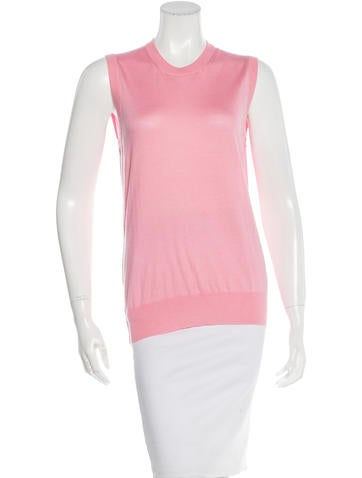 Dolce & Gabbana Cashmere & Silk Sleeveless Top w/ Tags None