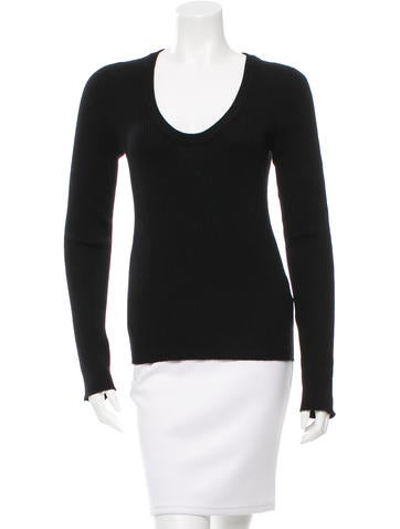 Dolce & Gabbana Wool Rib Knit Sweater None
