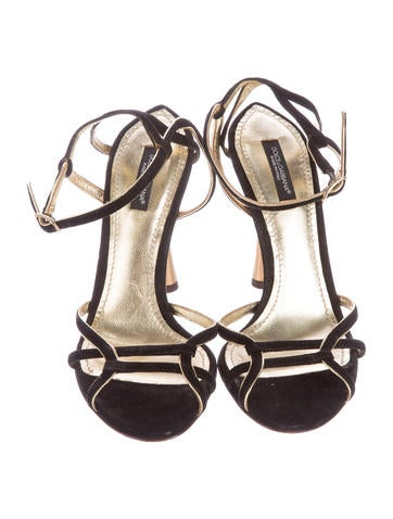 Suede Multistrap Sandals