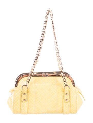 Dolce & Gabbana Snakeskin Shoulder Bag