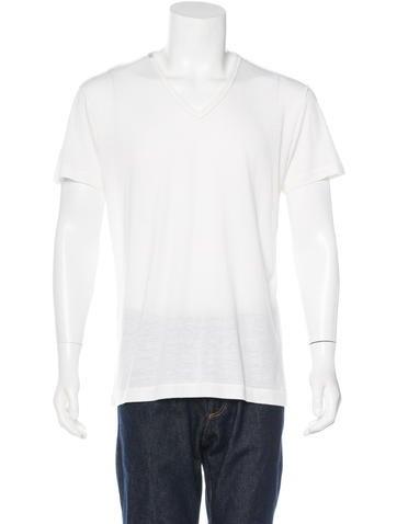 Dolce & Gabbana V-Neck Knit T-Shirt None