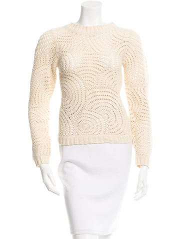 Dolce & Gabbana Open Knit Cashmere Sweater None