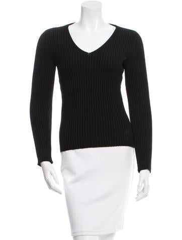 Dolce & Gabbana Virgin Wool Knit Sweater None