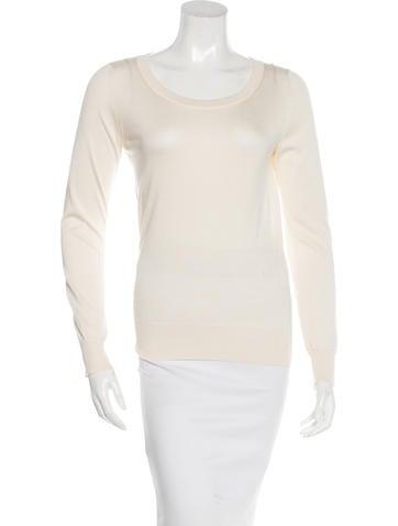 Dolce & Gabbana Silk Long Sleeve Sweater None