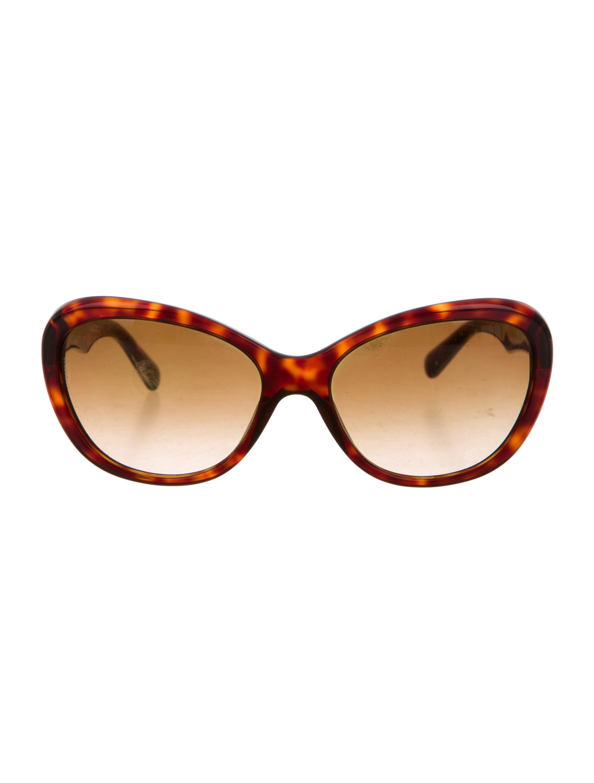 67d21e887ebd Dolce   Gabbana Tortoiseshell Round Sunglasses