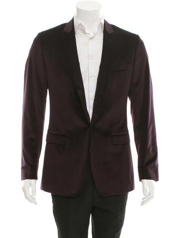 Dolce & Gabbana Velvet Single Button Blazer None