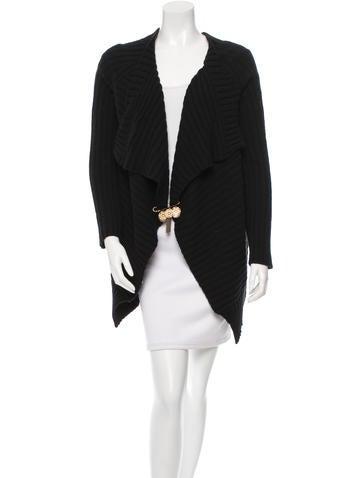 Dolce & Gabbana Asymmetrical Rib Knit Sweater w/ Tags None
