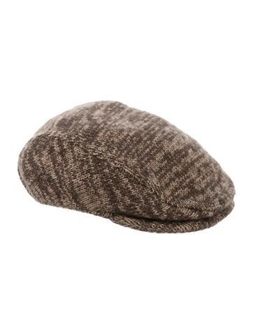 Dolce & Gabbana Rib Knit Newsboy Cap None