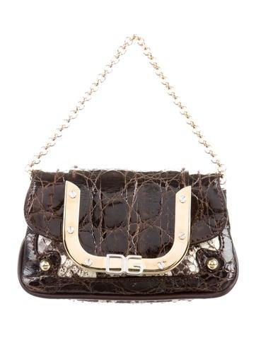 Dolce & Gabbana Crocodile & Python Handle Bag