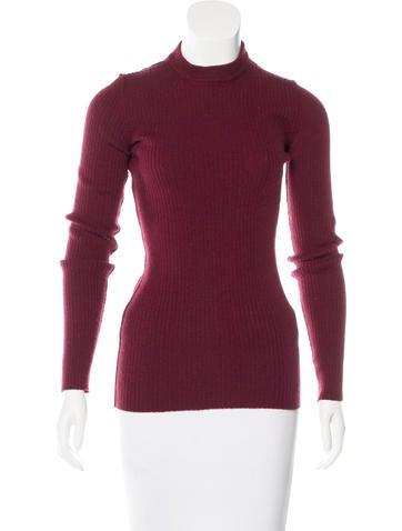 Dolce & Gabbana Virgin Wool Rib Knit Sweater None