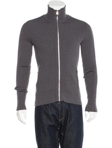 Dolce & Gabbana Mock Zip Sweater None