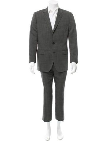 Dolce & Gabbana Virgin Wool Suit None