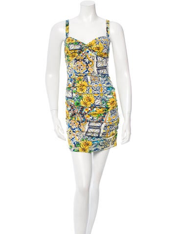 b8eb608ab75 Ebay Dolce And Gabbana Majolica Dress
