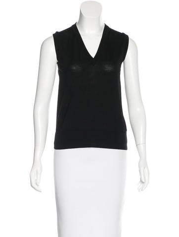 Dolce & Gabbana Wool Sweater Vest None