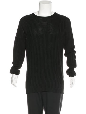 Dolce & Gabbana Rib Knit Sweater None