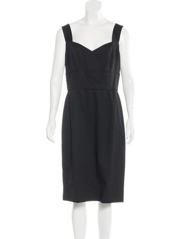Dolce & Gabbana Sleeveless Sheath Dress w/ Tags None