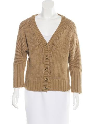 Dolce & Gabbana Wool Rib Knit Cardigan None