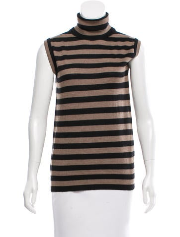 Dolce & Gabbana Cashmere Striped Top None